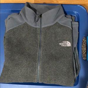 North face fleece zip up in amazing condition